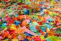 Festive colorful confetti