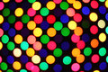 Festive colorful soft focus background polka dot Stock Photos