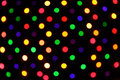 Festive colorful soft focus background polka dot Royalty Free Stock Images