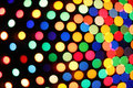 Festive colorful soft focus background polka dot perspective view Royalty Free Stock Images