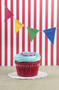 Festive cupcake Royalty Free Stock Photo