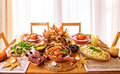 Festive dinner Royalty Free Stock Photo