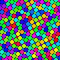 Festive dots pattern Royalty Free Stock Photo