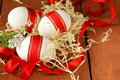 Festive Eggs Decorated With Re...