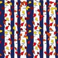 Festive Fall Repeat Seamless Pattern Vector Print