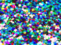 Festive foil confetti background Stock Photos