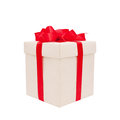 Festive gift. Royalty Free Stock Photo
