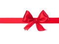 Festive gift ribbon and bow