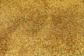 Festive gold glitter background Stock Image