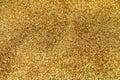 Festive gold glitter background