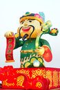 Festive lantern the good fortune was exhibition in the spring festival chinese new year chinese characters mean be promoted step Royalty Free Stock Photography