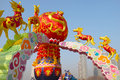 Festive lantern during spring festival chinese new year the lanterns were showed Royalty Free Stock Image