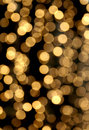 Festive light chain blur Stock Photography