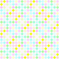 Festive pastel checks pattern Royalty Free Stock Image