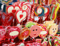 Festive sugar candies for children christmas gifts Royalty Free Stock Images