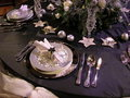 Festive table setting 2 Stock Photo