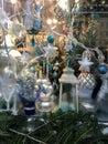 Decorated Christmas showcase