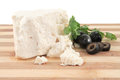Feta cheese Royalty Free Stock Image