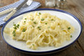 Fettuccine Alfredo Royalty Free Stock Photo