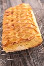 Feuillantine french gastronomy close up on Royalty Free Stock Images