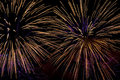 Feux d'artifice Images libres de droits