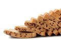 Few healthy, nutritious multigrain bread slices Royalty Free Stock Photo