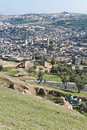 Fez general view at Morocco Royalty Free Stock Images