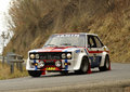 Fiat 131 Abarth Stock Images