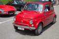 Fiat 500 Royalty Free Stock Image