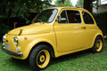 Fiat 500 italian car Royalty Free Stock Images