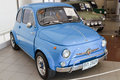 Fiat Nuova 500 , Vintage cars Royalty Free Stock Images