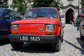 Fiat polski (Fiat 126p ) Royalty Free Stock Photo