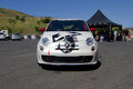 Fiat Test Drive At Ferrari challenge Sonoma Racewa Royalty Free Stock Photo