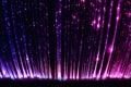 Fiber optic light cables in the light sensory room