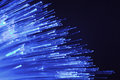 Fiber optic technology Royalty Free Stock Photo