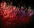 Fibre optic Royalty Free Stock Photo