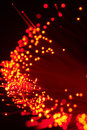 Fibre optics Royalty Free Stock Photo