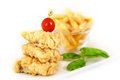 Fich and Chips Royalty Free Stock Photo