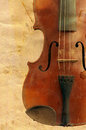 Fiddle abstract image of the old Royalty Free Stock Photo
