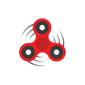 Fidget Spinner - 3 pronged hand toy spun by its center