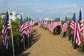 Field of Honor Event Stock Photo