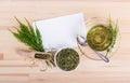 Field horsetail tea Royalty Free Stock Photo