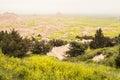 Rolling, Falling Fields | Badlands National Park, South Dakota, USA Royalty Free Stock Photo