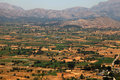 Fields of Lassithi Plateau(Crete, Greece) Royalty Free Stock Images
