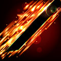 Fiery background with free space for your text vector Royalty Free Stock Photo