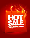 Fiery hot sale design. Stock Photo
