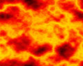 Fiery Smoke Stock Image