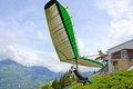 Fiesh Open hang gliding competitions Stock Images