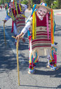 Fiesta las vegas sep a participant at the parade held in nevada on september the annual Stock Photography