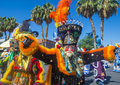 Fiesta las vegas sep a participants at the parade held in nevada on september the annual Royalty Free Stock Images
